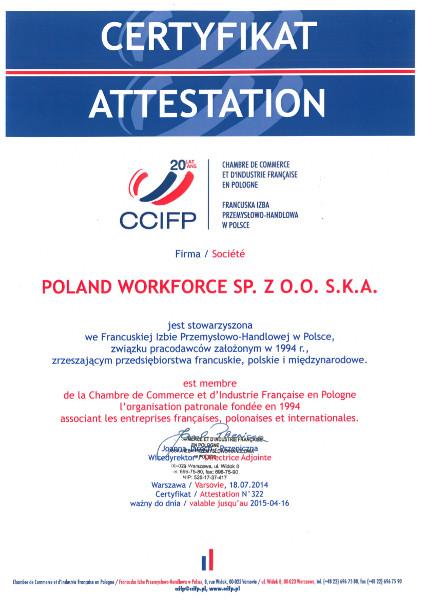 certyfikat ccifp